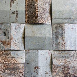 OTP38 Zinc Pyramid Decorative Panel
