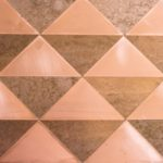 OctoTerra OTP39 Copper Triangles Decorative Panel