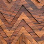 Wood Chevron Octoterra