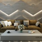 Octolam 1134 Laurel Oak Wash Feature Wall