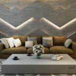 Octolam 1137 Mellow Oak Feature Wall