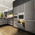 Octolam 1137 Mellow Oak Kitchen