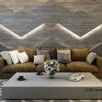 Octolam 1138 Laurel Oak Wind Feature Wall