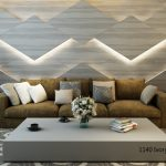 Octolam 1140 Ivory Willowood Feature Wall