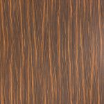 "Octolam 534 Postform Moka Zebra Matte Plastic Laminate Sheet (51"" x 120"")"