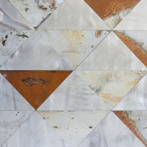 Octoterra OTP37 Zinc Triangles Decorative Panel